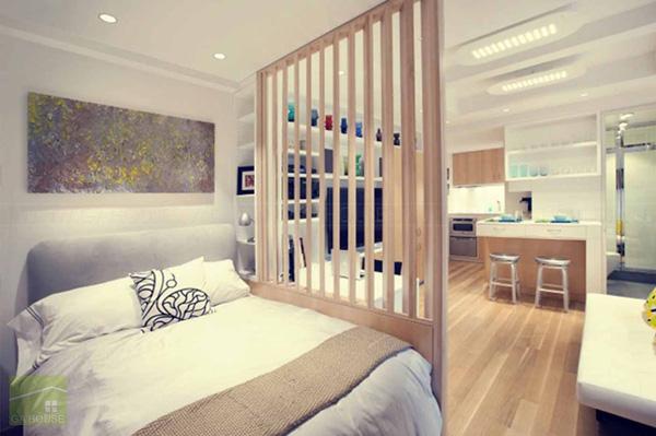 giải pháp cho căn hộ nhỏ