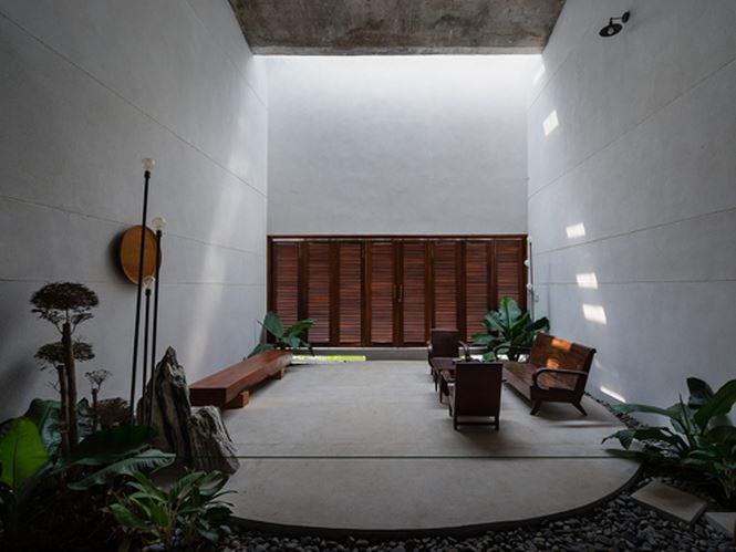 Căn nhà 'hiện đại- quá khứ' cho gia đình 3 thế hệ - ảnh 4