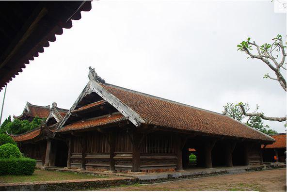 Kiến trúc chùa Keo đẹp bậc nhất Việt Nam6