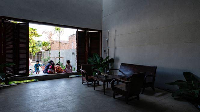 Căn nhà 'hiện đại- quá khứ' cho gia đình 3 thế hệ - ảnh 6