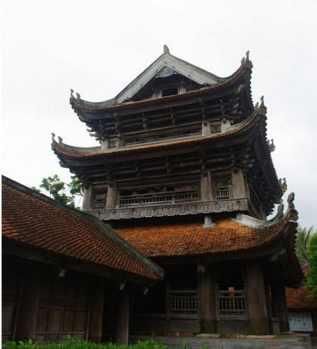 Kiến trúc chùa Keo đẹp bậc nhất Việt Nam7