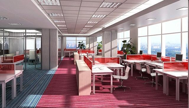 Các kiểu thiết kế văn phòng làm việc chuyên nghiệp-1