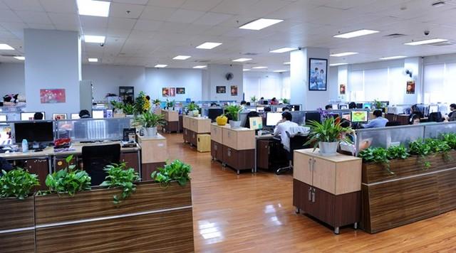 Các kiểu thiết kế văn phòng làm việc chuyên nghiệp-5