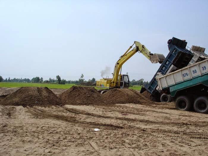 Quy trình giám sát thi công san lấp mặt bằng xây dựng