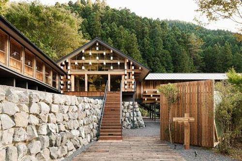 Nhà gỗ phổ biến ở Nhật