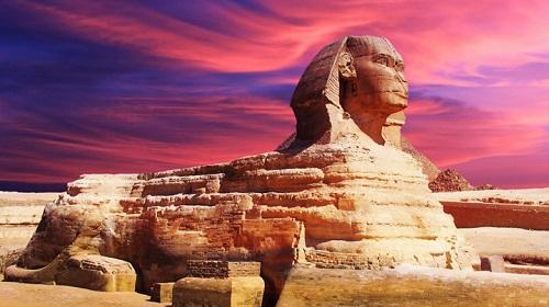 Công trình kiến trúc Ai Cập cổ đại này có hình dáng mình sư tử và đầu người
