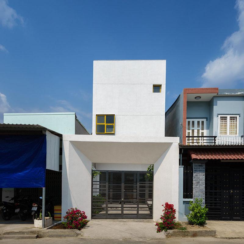 Up2green - Nhà phố tuyệt đẹp với thiết kế ấn tượng tại Bình Dương