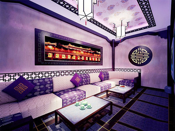 thiết kế nội thất phòng karaoke