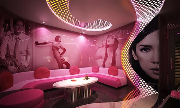 Thiết kế nội thất karaoke