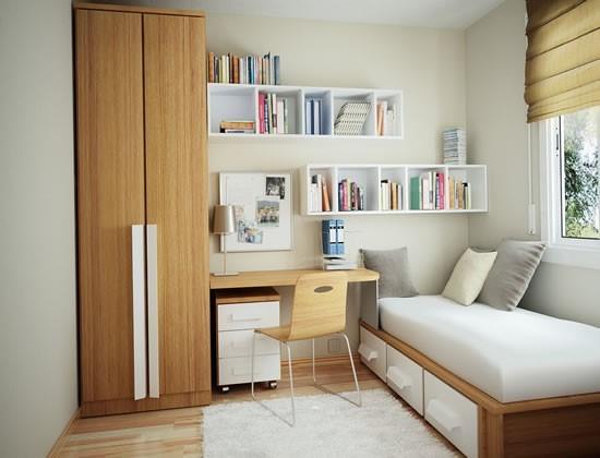 Thiết kế nội thất phòng ngủ nhỏ Thiết kế nội thất phòng ngủ nhỏ đẹp ngỡ ngàng