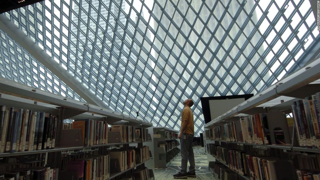 Choáng ngợp những thư viện đẹp nhất nước Mỹ - 4