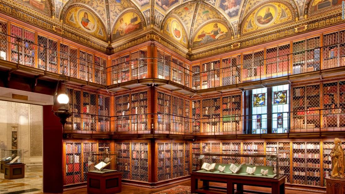 Choáng ngợp những thư viện đẹp nhất nước Mỹ - 2
