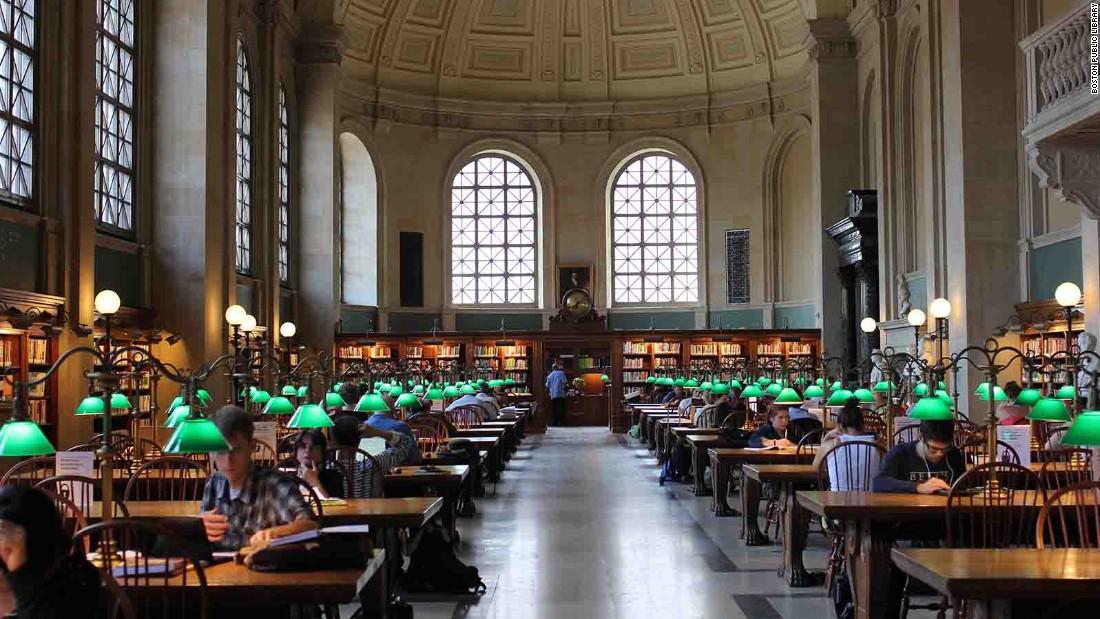 Choáng ngợp những thư viện đẹp nhất nước Mỹ - 9