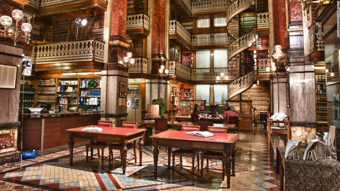 Choáng ngợp những thư viện đẹp nhất nước Mỹ - 10