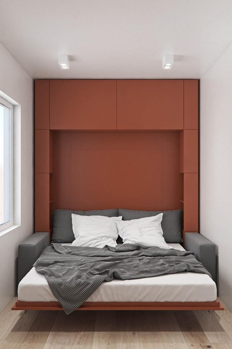 Mẫu thiết kế nhà ống 2 tầng 3 phong ngủ đẹo hiện đại đẳng cấp 18