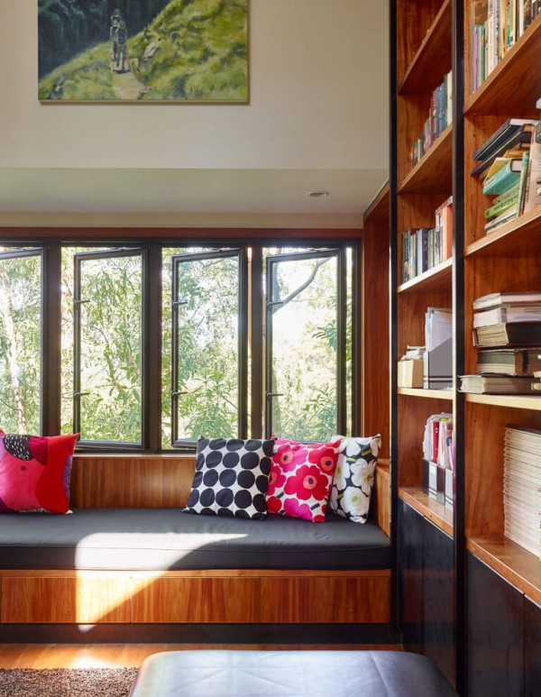 thiết kế biệt thự đẹp sang trọng với gỗ tự nhiên.