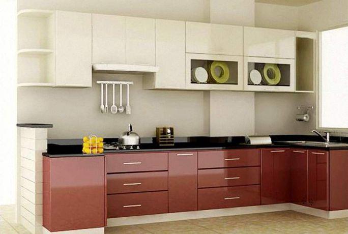 Nội thất nhà bếp kiểu dáng đơn giản--Mẫu 2