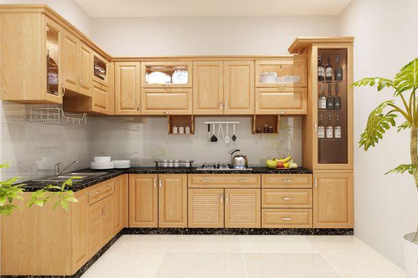 Nội thất nhà bếp kiểu dáng đơn giản--Mẫu 3
