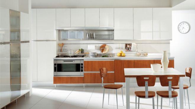 Nội thất nhà bếp kiểu dáng đơn giản--Mẫu 4