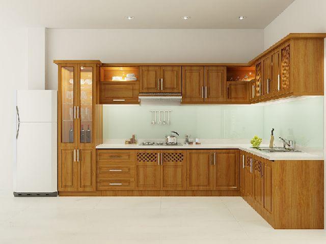 Nội thất nhà bếp kiểu dáng đơn giản--Mẫu 5