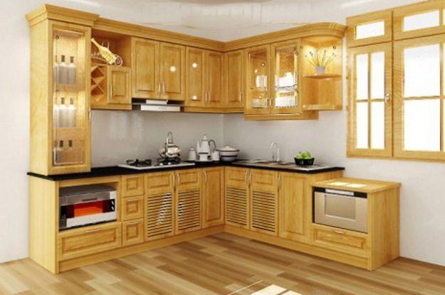Nội thất nhà bếp kiểu dáng đơn giản--Mẫu 6