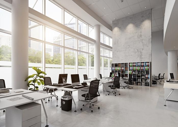 Thiết kế nội thất văn phòng đẹp tinh tế , kientrucdep24h.vn