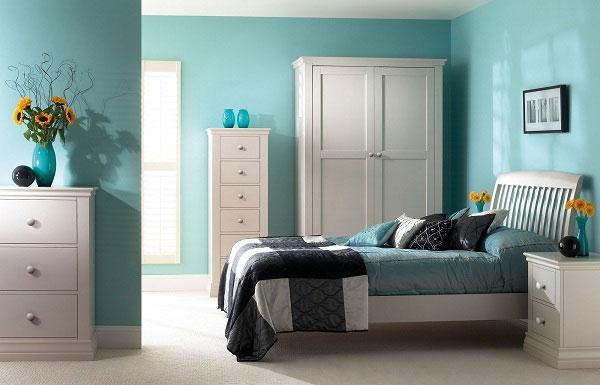 Màu kem tươi trong trang trí nội thất  , kientrucdep24h.vn