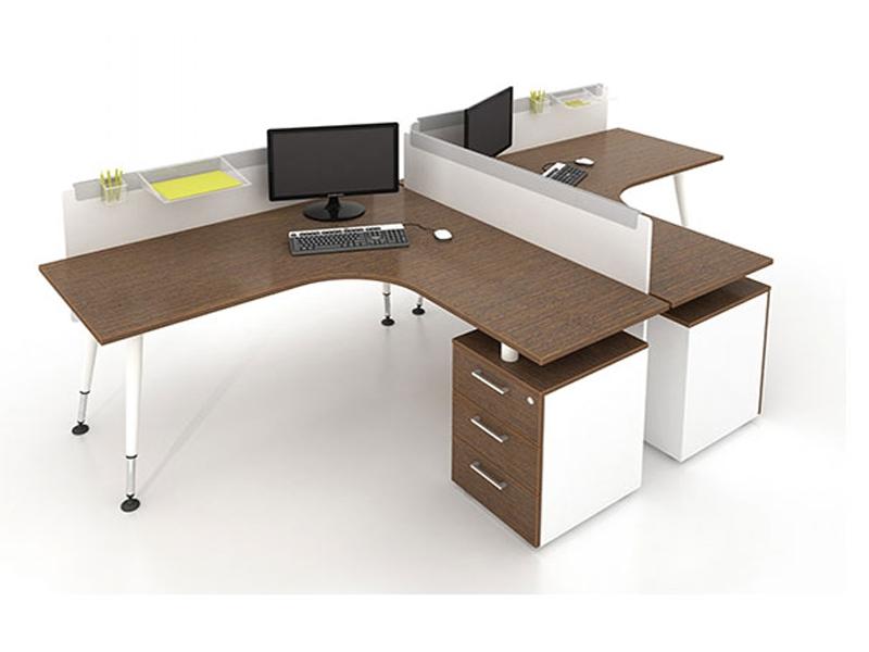 Bàn làm việc đơn giản giải pháp cho văn phòng , kientrucdep24h.vn