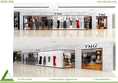 Shop thời trang TNG