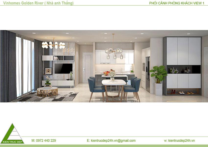 Bản thiết kế nội thất chung cư mới nhất năm 2018