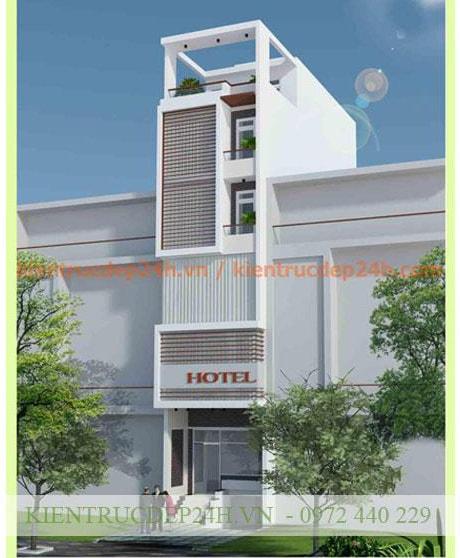 Công trình kiến trúc nhà phố 3