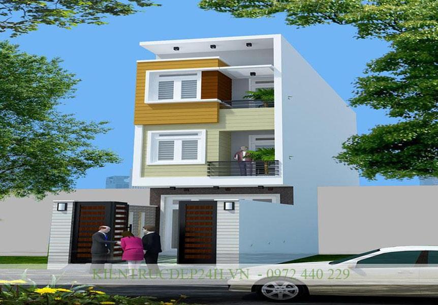 Công trình kiến trúc nhà phố đẹp