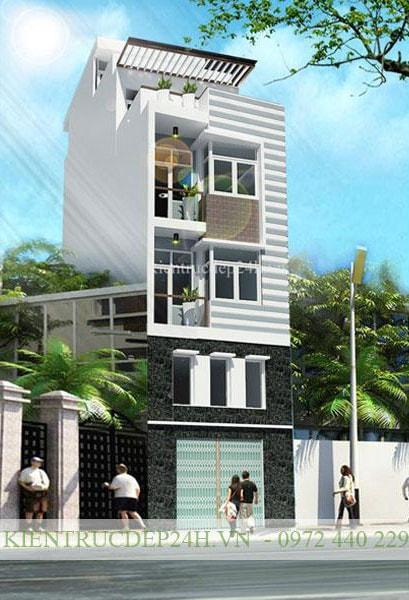 Mẫu công trình nhà phố
