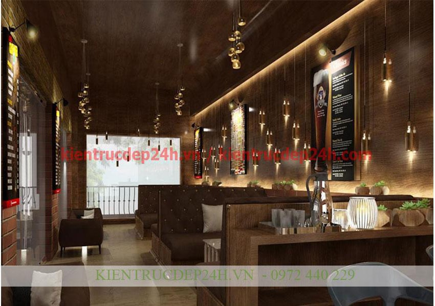 Nội thất quán cafe