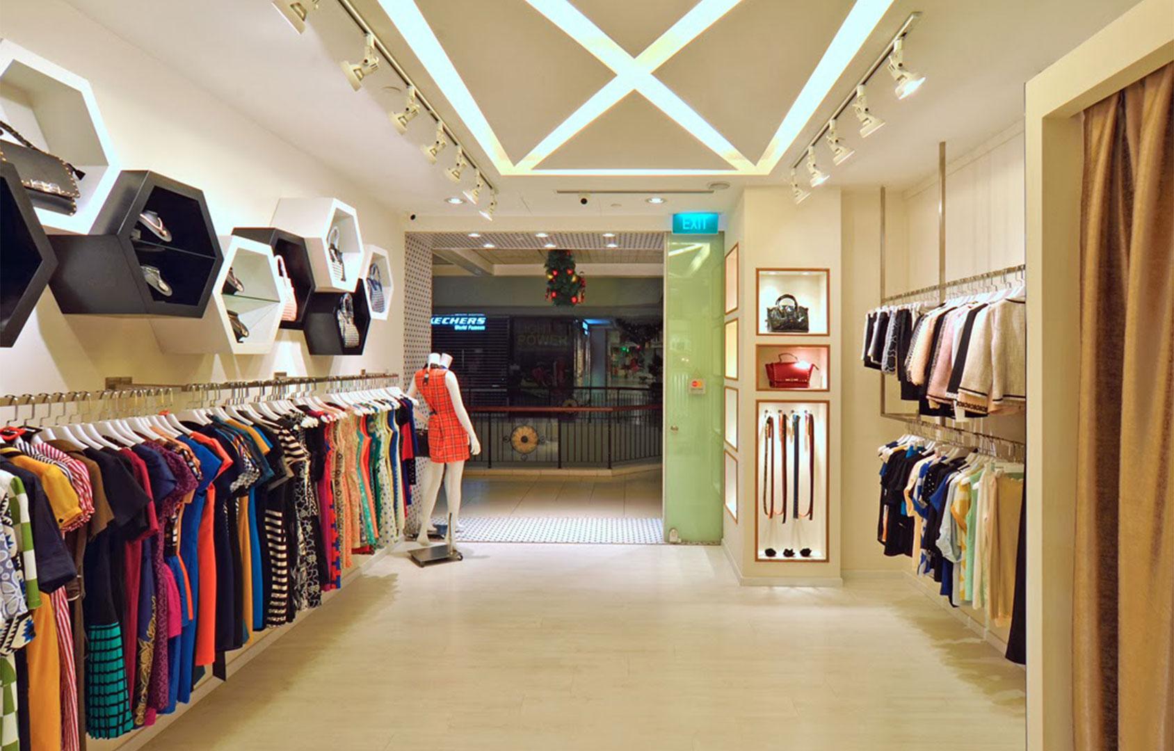 Nội thất shop quần áo