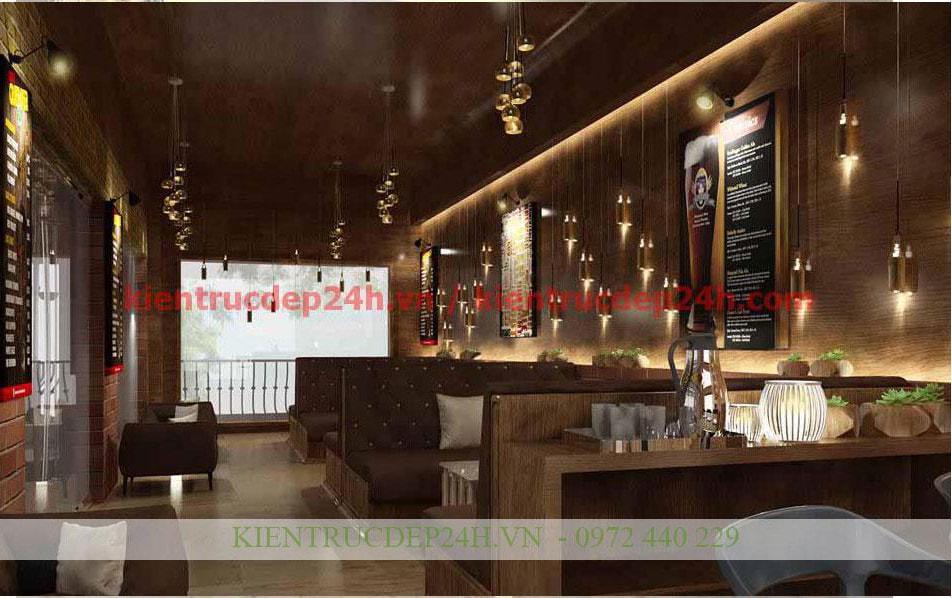 Thiết kế kiến trúc nhà hàng - cafe 2