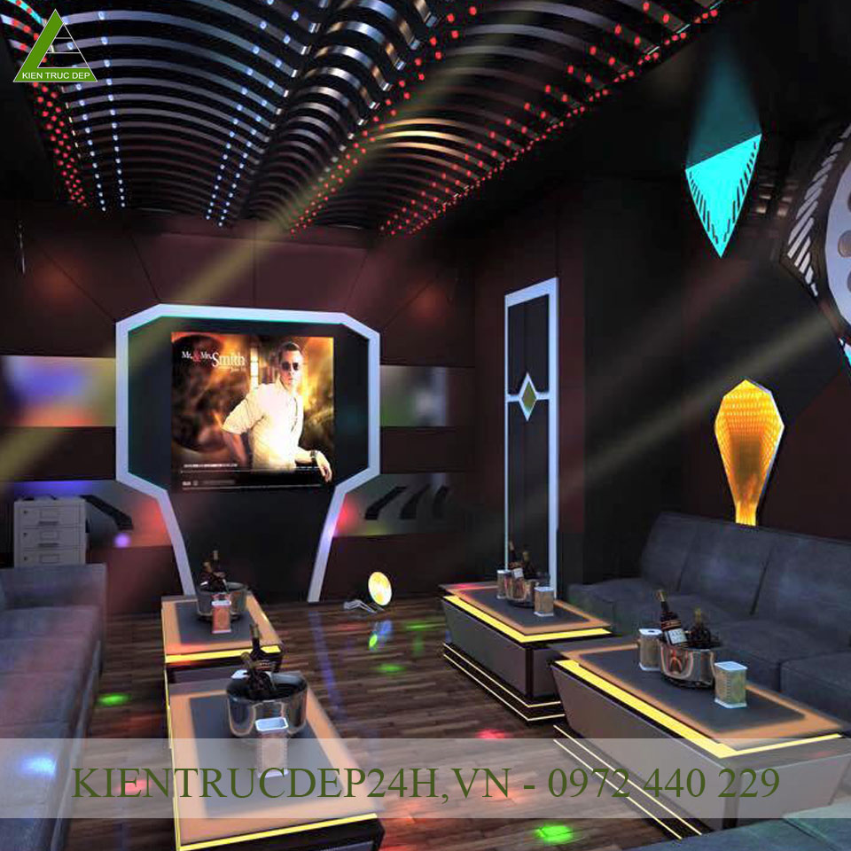 Thiết kế nội thất karaoke 2