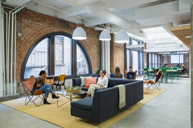 Thiết kế văn phòng đẹp như mơ