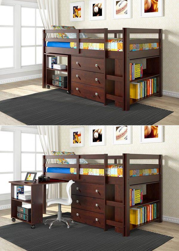 Bộ sưu tập 39 mẫu giường trẻ em đẹp_Mẫu 1