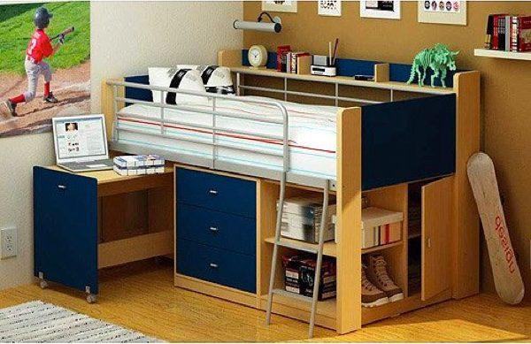 Bộ sưu tập 39 mẫu giường trẻ em đẹp_Mẫu 2