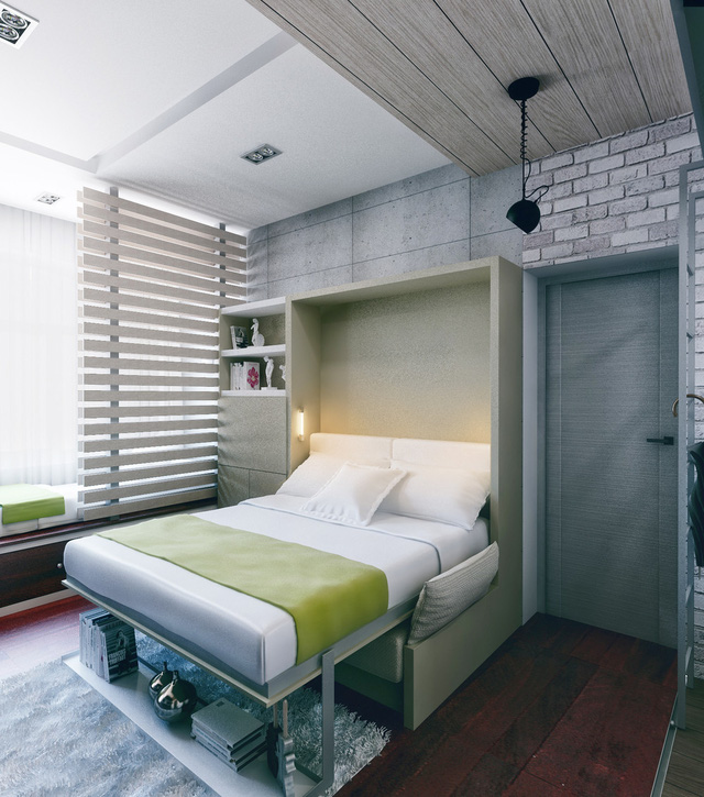 Chủ nhà lựa chọn những món đồ nội thất với những đường nét mộc mạc, thanh thoát, tạo hiệu ứng không gian tối đa cho căn hộ.
